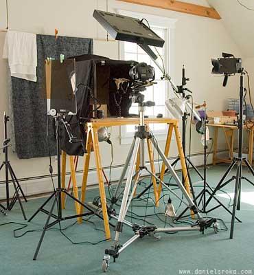 Daniel Sroka's studio