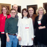 Some of my fellow artists at Artexpo 2011.