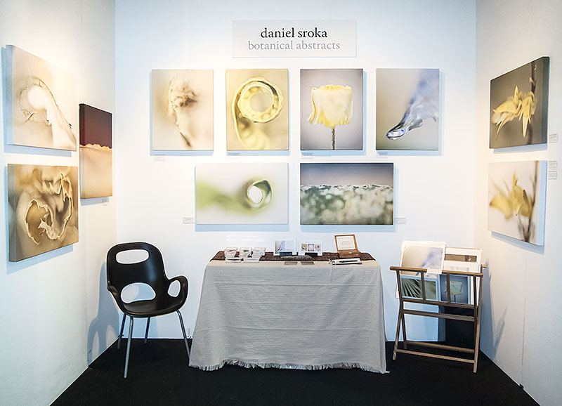 Daniel Sroka's booth at Artexpo New York 2012