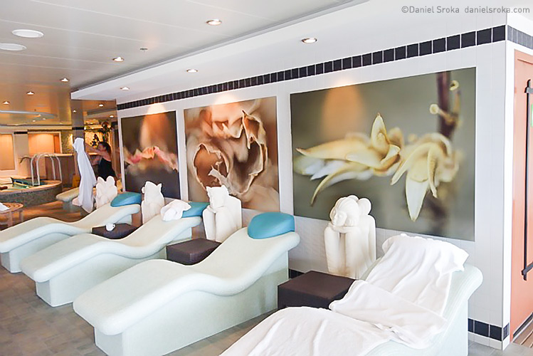 Norwegian Cruise Lines  purchased a large number of my photographs to decorate the spa areas on one of their ship.